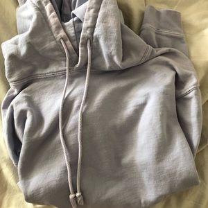 Brandy Melville lavender hoodie